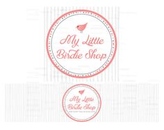 Etsy Shop Banner  Bird Logo  Shop Banner Set  Etsy by RhondaJai