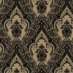 Damask - large scale motifs, and exquisite jacquard weaves