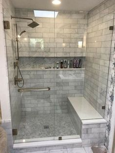 A bath remodel is no small undertaking. So before you start tearing up the tiles and picking out the tub, get a little advice from& The post A bath remodel is no small undertaking. So before you start tearing up the tiles& appeared first on Wallis Walls. Modern Bathroom Design, Bathroom Interior Design, Bathroom Designs, Diy Home Interior, Luxury Interior, Shower Remodel, Bath Remodel, Restroom Remodel, Wc Decoration