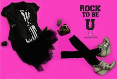 "Advertising Class. This is advertising for magazine, and about branding myself. This concept is life style, I arrange my clothes look like I wearing it. Like another advertisement have tag line, I put "" Rock to be U "" as my quote. Media: Canon 6D, Adobe Photoshop, Adobe Illustrator."