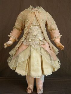 antique doll's clothes accessories | Antique doll dress