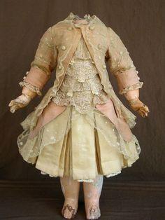 antique doll's clothes accessories | Antique doll dress