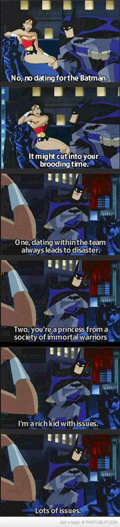 No Dating For Batman...