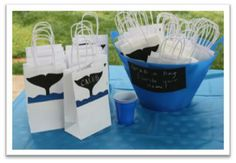 InspireMe Crafts: Killer Whale Birthday Party: The Fun Stuff – Games, Activities and Goodie Bags