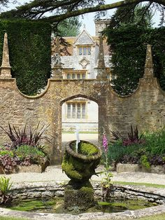 Athelhampton House, Dorset, where my little pixie captured frogs and I peeked into the secret garden. Heavenly.