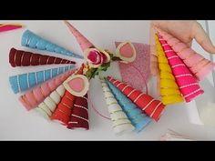 Tiara de Unicórnio - Fazendo O Chifre - Aula 2 - YouTube