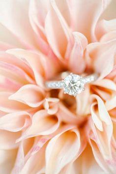 A sparkling engagement ring: http://www.stylemepretty.com/little-black-book-blog/2015/01/13/elegant-ashford-estate-ballroom-wedding/ | Photography: Kay English - http://www.kayenglishphotography.com/