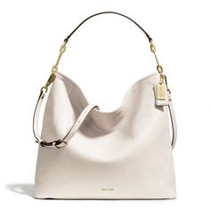 The Madison Hobo In Leather from Coach
