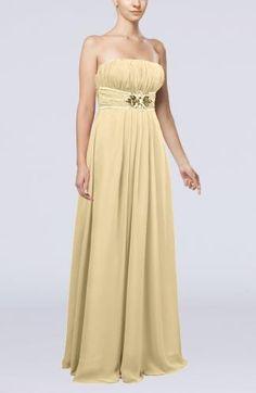 Chiffon Strapless Elegant Evening Gowns - Order Link: http://www.theweddingdresses.com/chiffon-strapless-elegant-evening-gowns-twdn6812.html - Embellishments: Sequin , Pleated , Paillette , Flower; Length: Floor Length; Fabric: Chiffon; Waist: Empire - Price: 133.99USD