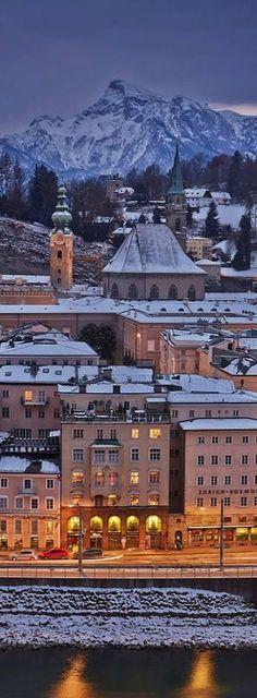 In Salzburg, Austria. Beautiful Places In The World, Places Around The World, Oh The Places You'll Go, Places To Visit, Around The Worlds, Visit Austria, Austria Travel, Bad Gastein, Innsbruck