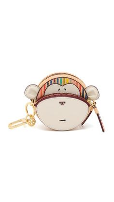 Tory Burch Monkey Key Fob Pouch