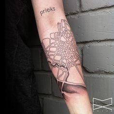Map Tattoos   POPSUGAR Smart Living