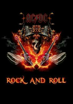 AC/DC - Best rock n roll band in the world! El Rock And Roll, Rock And Roll Bands, Rock N Roll Music, Rock Posters, Band Posters, Concert Posters, Blues Rock, Casa Do Rock, Ac Dc Rock