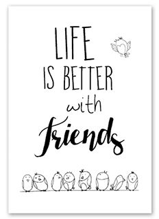 Handlettering Life is better with friends Calligraphy Doodles, Calligraphy Quotes, Doodle Quotes, Bullet Journal Quotes, Words Quotes, Sayings, Hand Lettering Quotes, Drawing Quotes, Writing Styles