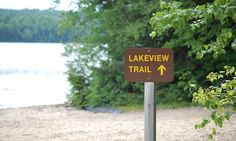 Day trippers or overnight campers will enjoy a visit to Mikisew in South River, Ontario - a small park that& big on fun and adventure. O Canada, Canada Travel, Ontario Provincial Parks, Ontario Parks, Algonquin Park, Lake View, The Great Outdoors, The Good Place, Camping