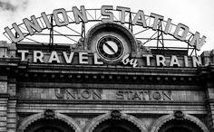 "So succinctly put...""Travel by Train""...Denver Union Station!   http://www.paleriderprod.com/life/"
