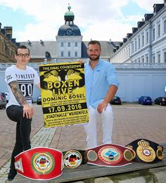 """Die erste internationale Bewährungsprobe für den 26-jährigen """"Team Deutschland""""-Boxer wird im Kampf um den WBO-Europa-Titel im Halb-Weltergewicht gegen den starken Belgier Andrea Carbonello (13-1-1 (2)) stattfinden."""
