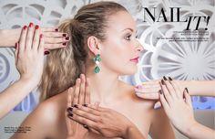 "Beauty editorial ""Nail it!"": Tendências em esmaltes #nailpolish #nails #nailart #red #purple #nude #candycolors"