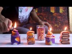 How To Make a Cool Ice Candle - DIY Home Tutorial - Guidecentral - YouTube