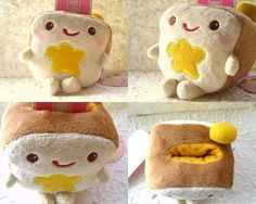 Bread shaped, check. Kawaii, check. Love, check!