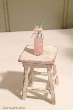 Pink Lemonade in 1:12 Scale by WindyPointMiniatures