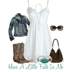 Super Western Boats Outfit Summer Country Girls The Dress Ideas Looks Country, Country Girl Style, Country Fashion, Country Girls, Country Chic, Teen Style, Western Style, Cowgirl Outfits, Edgy Outfits