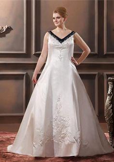 Plus Size Colored Wedding Dresses Cheap