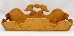"""Superb bird's eye and tiger maple knife tray or carrier, circa 1800. In good overall condition with expected wear and some losses, please see all pictures. Measures 13""""L x 10""""W x 5""""H."""