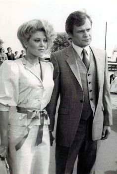 Cliff Barnes and Afton Cooper.