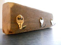 Rustic Key Rack from RePurposed Materials