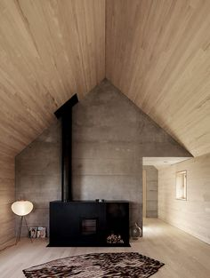 Don't have to be able to read the article to admire the architecture and awesome stove!