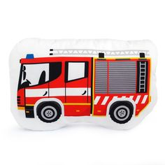 DOPRAVNÍ PROSTŘEDKY / hasičské auto / polštářek