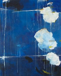 untitled blue (her night sky's desire) - thérèse murdza