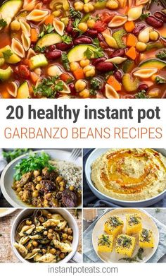 23 Instant Pot Garbanzo Beans Recipes For A Healthy Meal Garbanzo Bean Recipes, Chickpea Recipes, Beans Recipes, Instant Pot Pressure Cooker, Pressure Cooker Recipes, Pressure Cooking, Vegan Crockpot Recipes, Healthy Recipes, Veggie Recipes