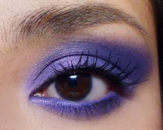 Have Gorgeous Violeteye Makeup Brown Eyes From Box