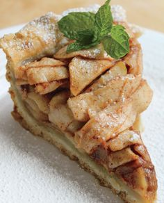 American Apple Pie - dairy free and vegan, this pie from the cookbook Nom Yourself by Mary Mattern is a classic!