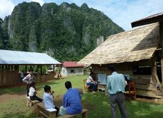 A beautiful setting for a Sight For All survey of school children in Laos