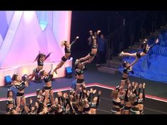 Cheer Extreme Raleigh Berries Summit 2016 Large Sr. 4 - YouTube