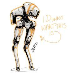 1,432 vind-ik-leuks, 44 reacties - Alan Blackwell (@ablackwe) op Instagram: '288 2016 anyone...? Anyone...? Bueler...? Bueler...? #mech #mecha #robot #sketch #quicksketch…'