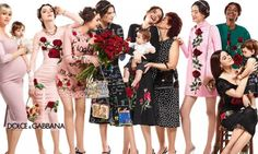 Dolce & Gabbana Fall / Winter 2015 Advertising Campaign