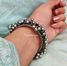Oxidised Bracelet, Boho Jewelry, Afghani Jewellery, Ghunghroo Bracelet, German Silver silver jewellery Your place to buy and sell all things handmade Antique Jewellery Designs, Fancy Jewellery, Silver Jewellery Indian, Silver Bangles, Antique Jewelry, Silver Jewelry, Black Jewelry, Hand Jewelry, Tribal Jewelry