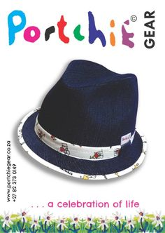 Girls #fedora by #portchiegear - www.portchiegear.co.za