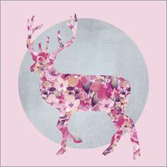 Andrea Haase - Flower Deer