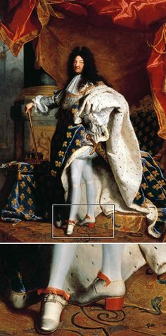 Why did men stop wearing high heels?      Louis XIV painted in 1701 by Hyacinthe Rigaud (Getty Images)