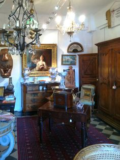 Isle sur la Sorgue, France..this is the place to buy your antiques