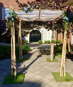Chuppah, Arch, Outdoor Structures, Garden, Wedding, Valentines Day Weddings, Longbow, Garten, Lawn And Garden