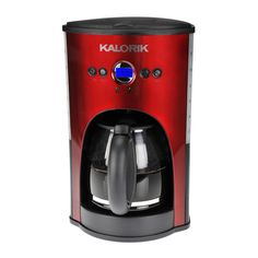 Programmable 12 Cup Coffee Maker Red Red Coffee Maker Coffee