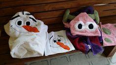 Hooded towels & wash cloth