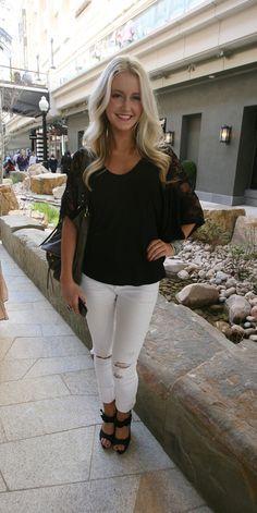 Street Style: Lexie Kener at the City Creek Center opening in Salt Lake City