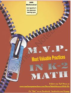 MVPs in Math (Grades 3-8) from Math Science with TLC on TeachersNotebook.com (45 pages)